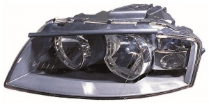Audi A3 [03-08] Headlight Unit - Chrome Inner