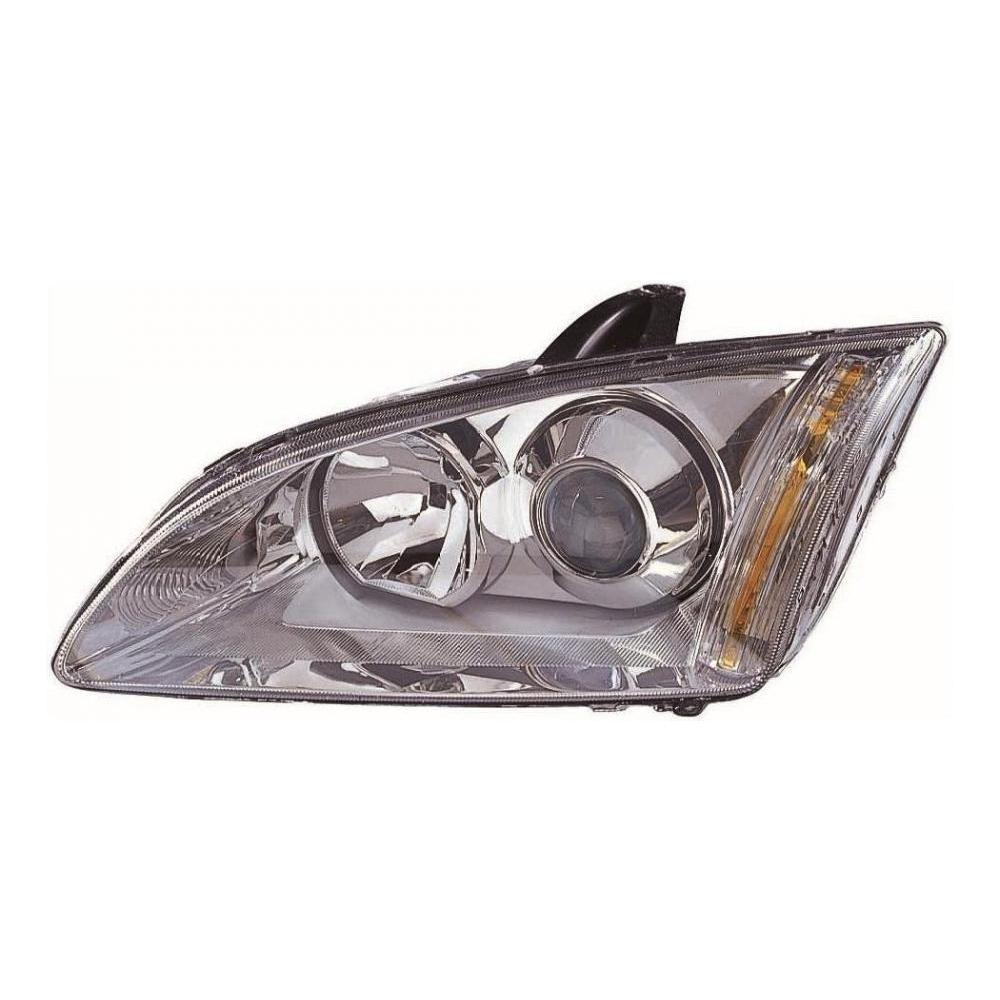 Ford Focus MK2 [05-08] Xenon HID Headlight Unit - Silver Inner