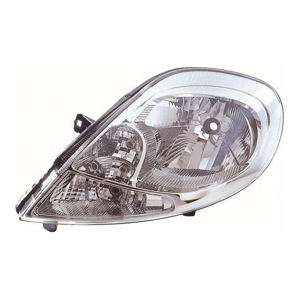 Renault Trafic [07 on] Headlight Unit - H4 with Clear Indicator