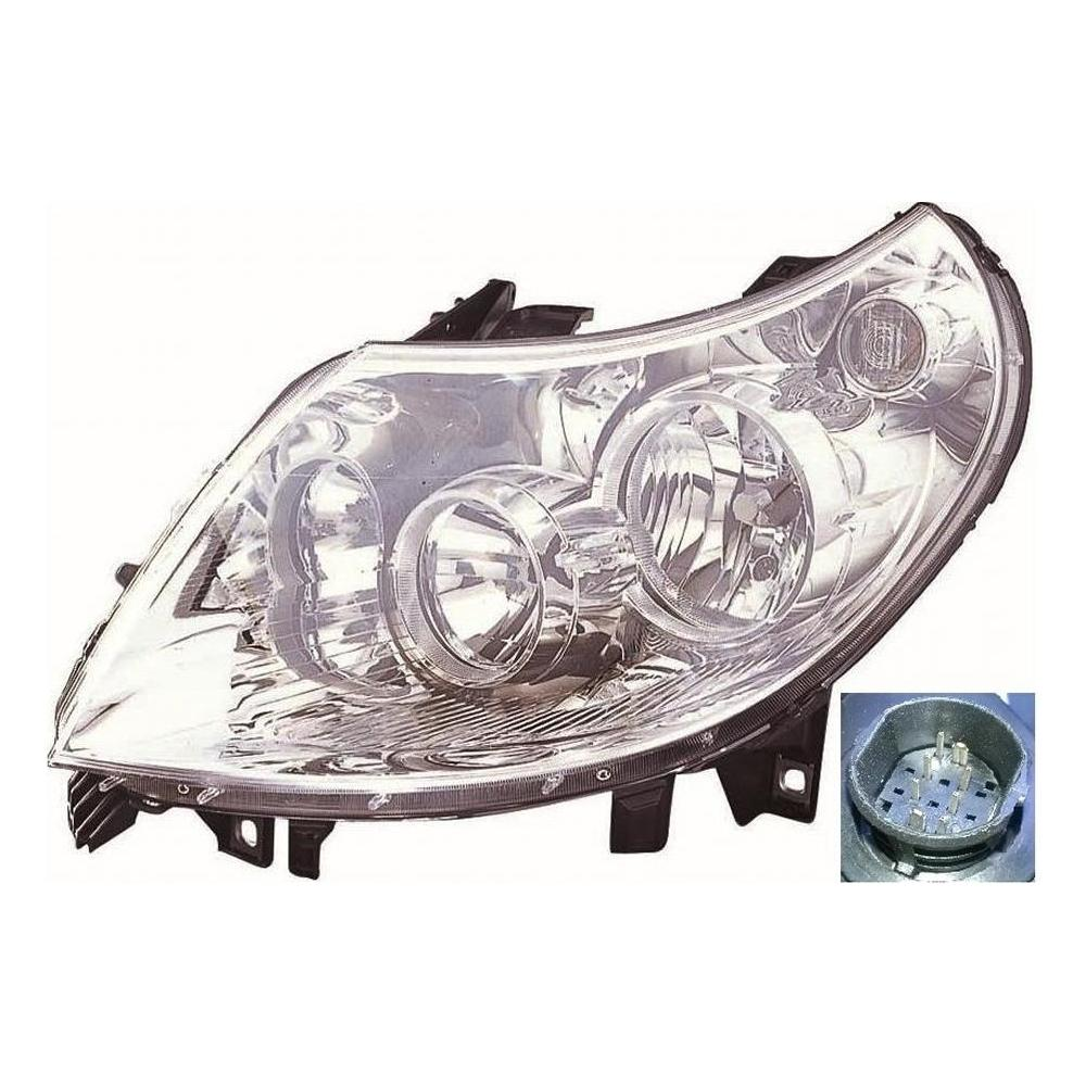Fiat Ducato [06-10] Headlight Unit - H1 / H7