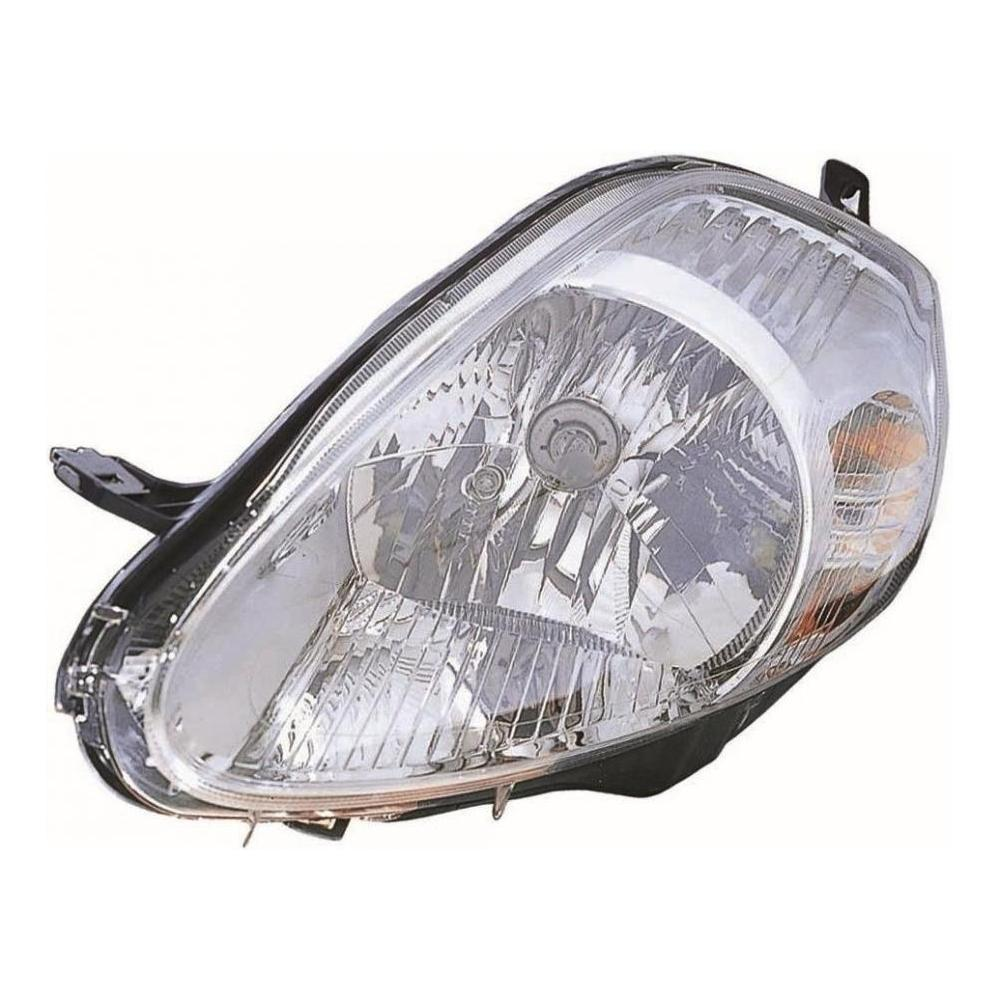 Fiat Punto Grande [06-08] Headlight Unit - Chrome Inner (not sport)