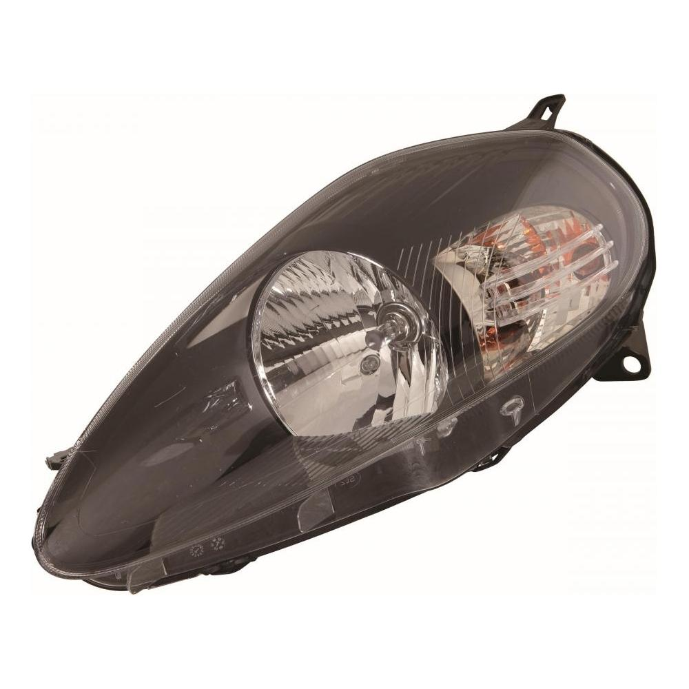 Fiat Punto Grande [06-08] Headlight Unit - Black Inner (Abarth Only)
