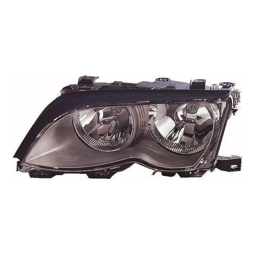 BMW 3 Series E46 [01-05] Headlight Unit - with Black Inner (4 door & compact only) LCI