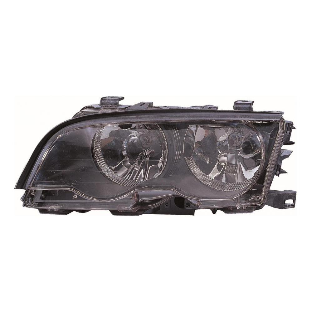 BMW 3 Series E46 Coupe [98-01] Headlight Unit with Black Inner