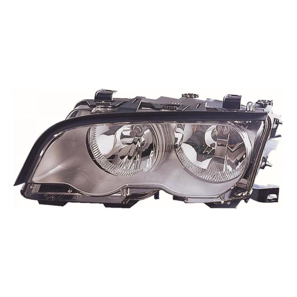 BMW 3 Series E46 Coupe [98-01] Headlight Unit with Chrome Inner