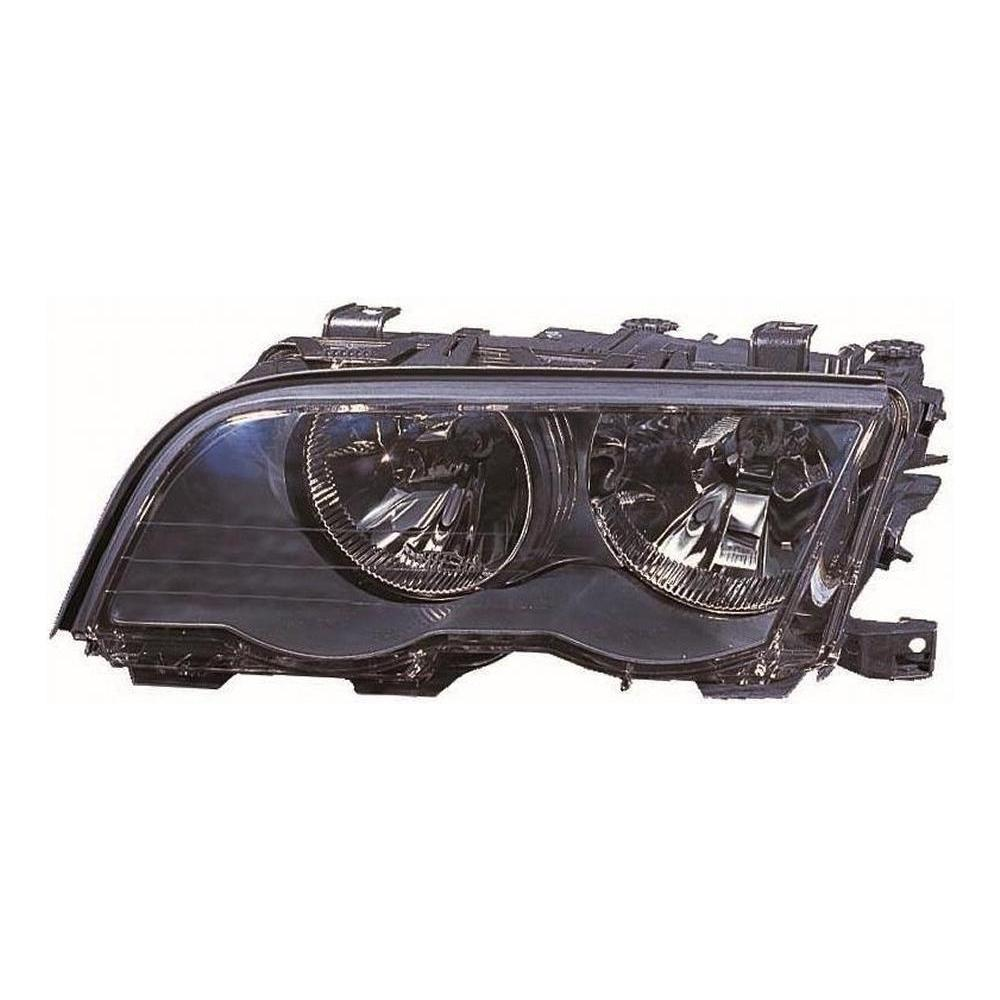 BMW 3 Series E46 [98-00] Headlight Unit - with Black Inner (4 door & compact only)