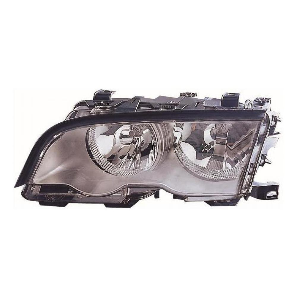 BMW 3 Series E46 [98-00] Headlight Unit - with Chrome Inner (4 door & compact only)
