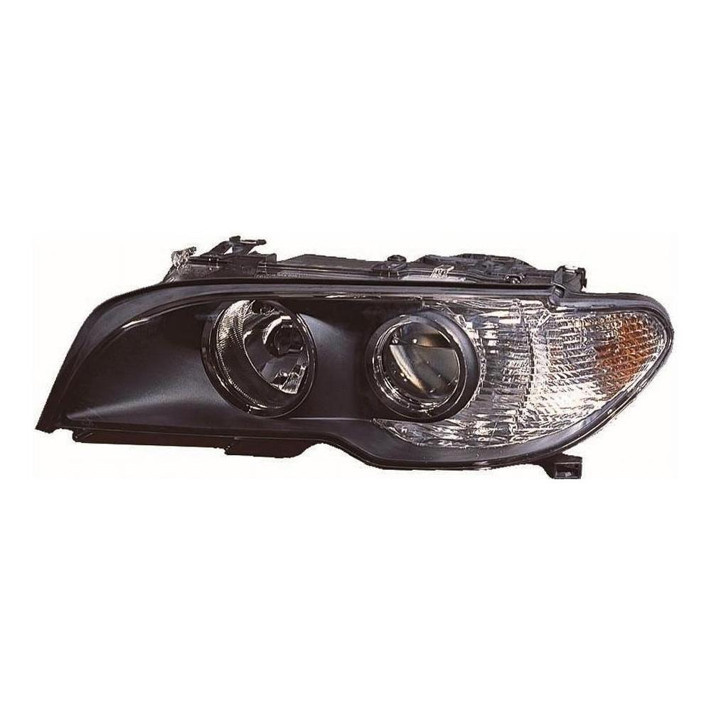 BMW 3 Series E46 Coupe [03-06] Headlight Unit with Black Inner