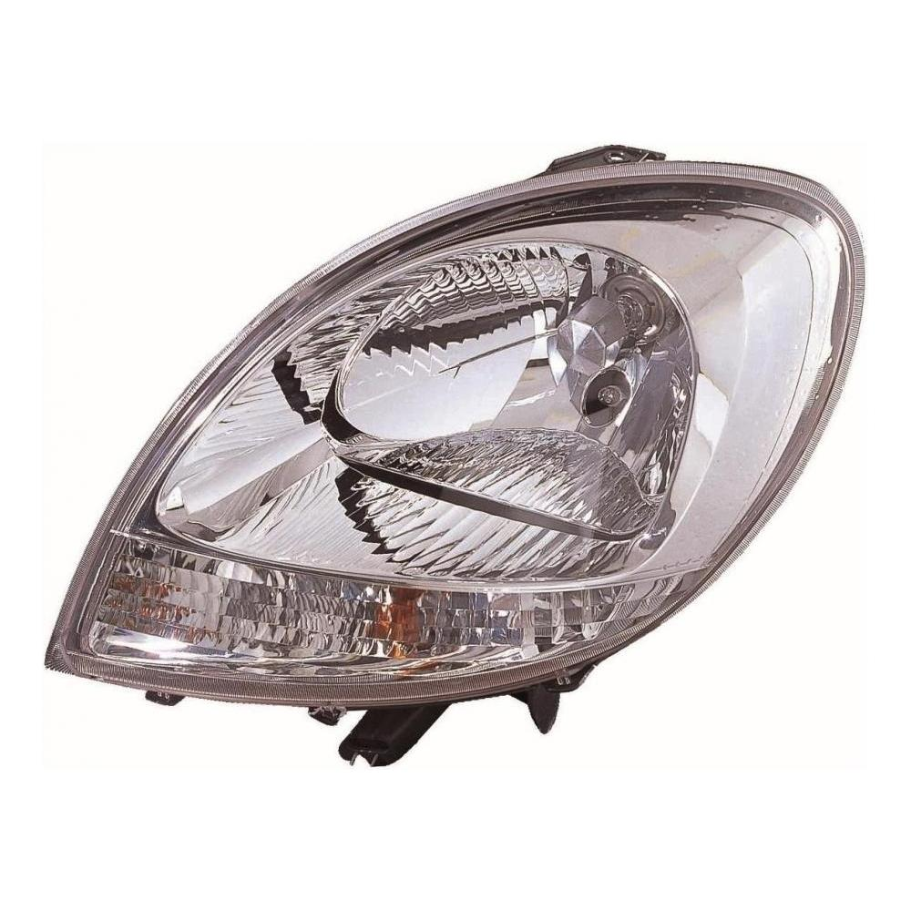 Renault Kangoo MK1 [06-08] Headlight Unit - Facelift version with Clear Indicator