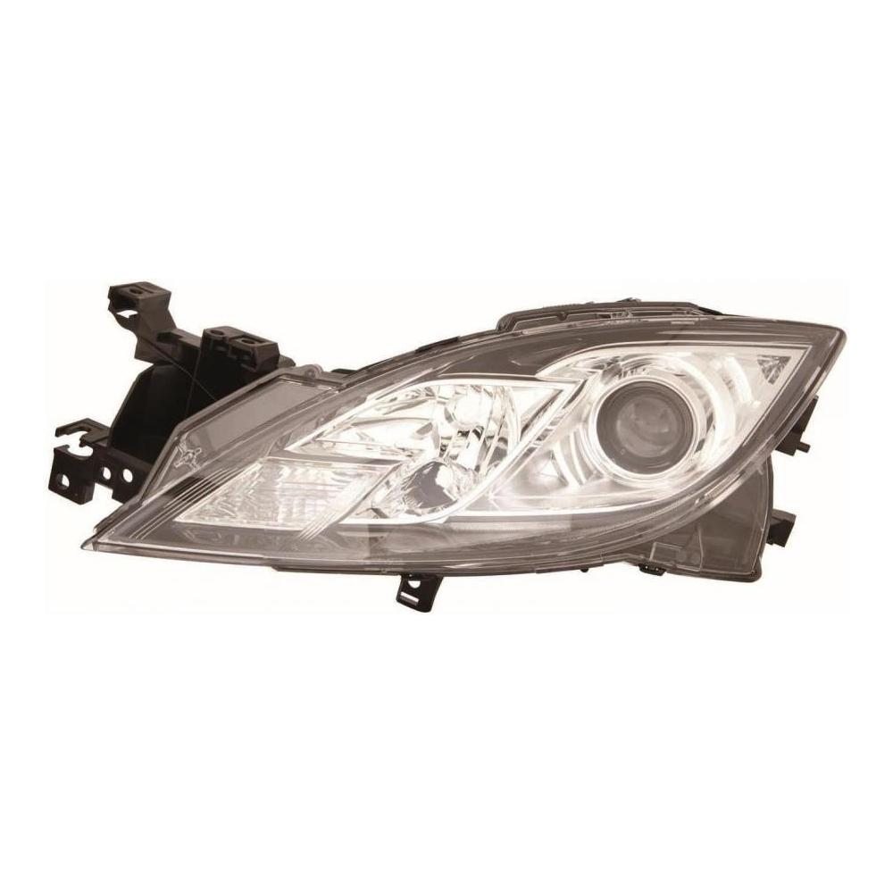 Mazda 6 MK2 [10-12] Headlight Unit with Chrome Inner H11 & H9