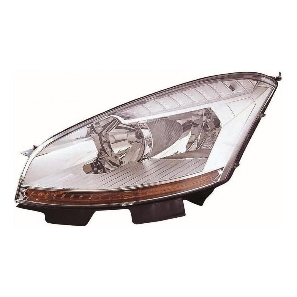 Citroen C4 Picasso [07-10] Headlight Unit - with amber indicator - H7 & H1 Halogen