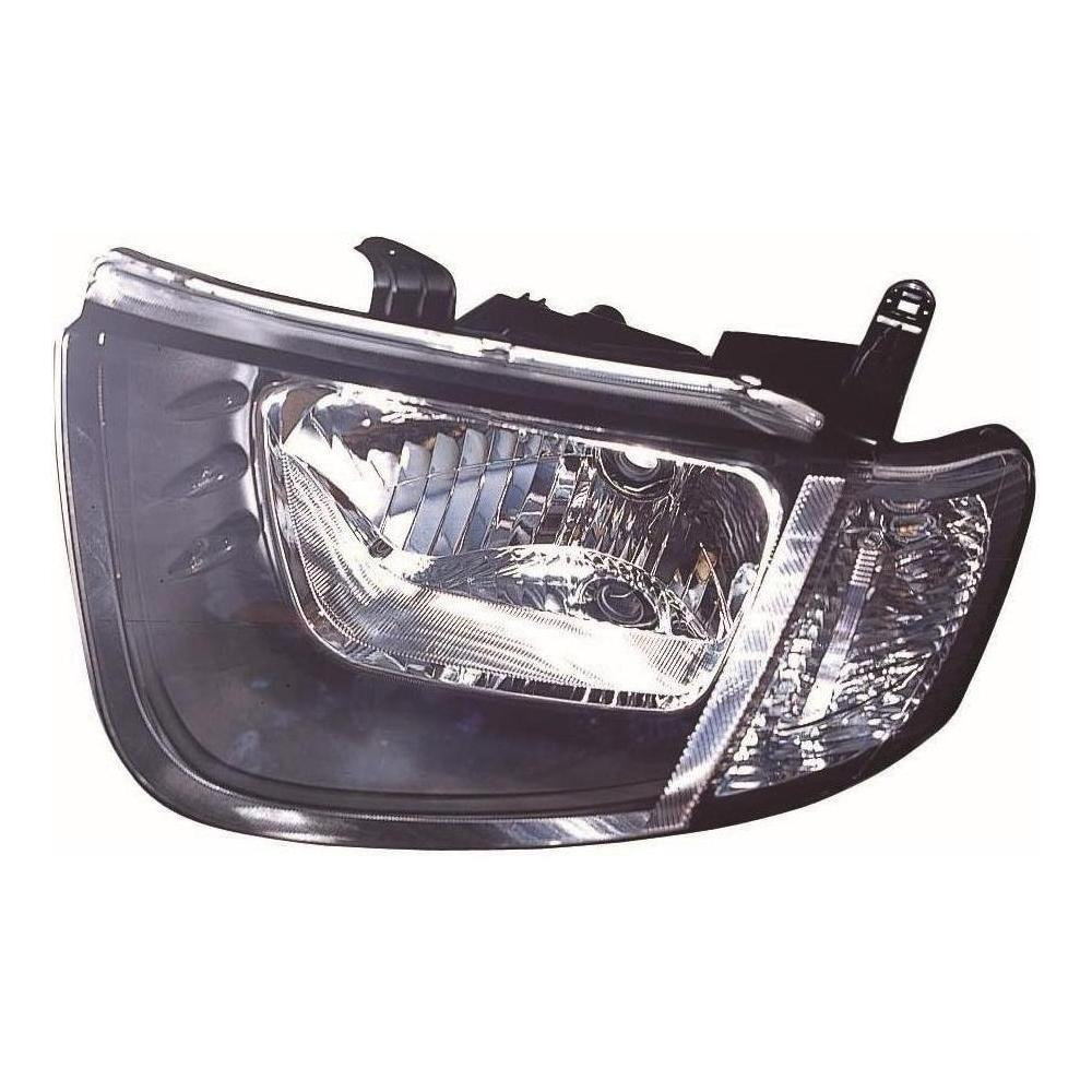 Mitsubishi L200 MK4 [06-10] Headlight Unit with Clear Indicator (Single Cab Only)