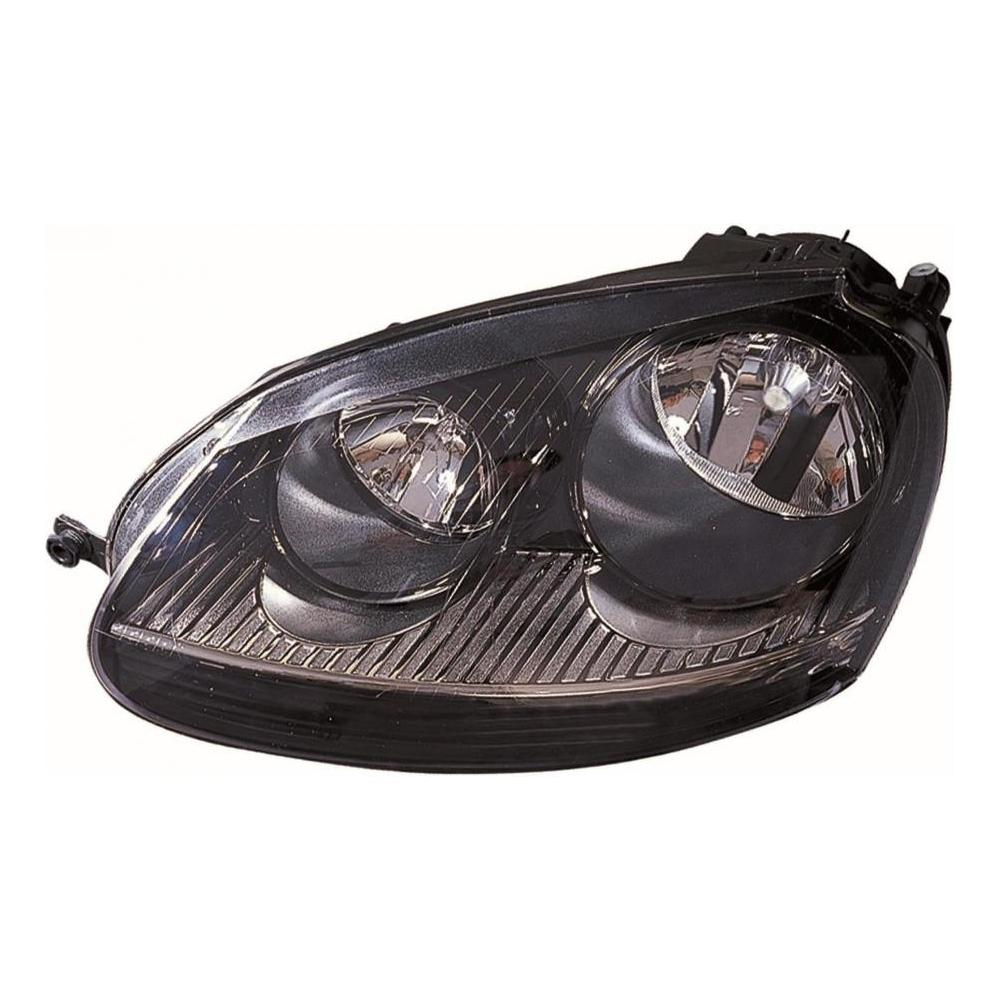 VW Golf MK5 GTI [04-08] Headlight Unit - Black Inner (GTI Models - not Xenon)