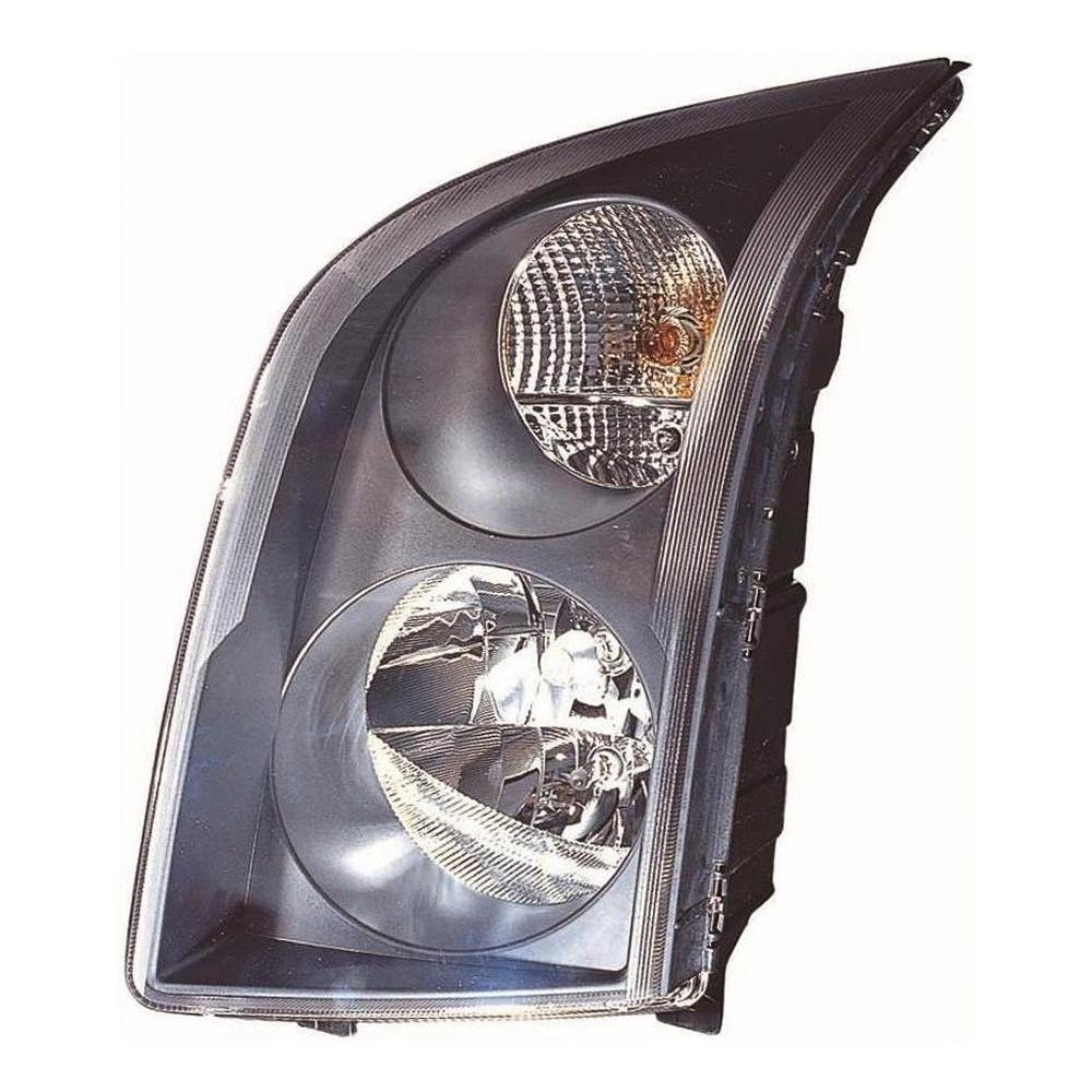 Volkswagen Crafter [06 on] Headlight Unit with Black Inner - H7