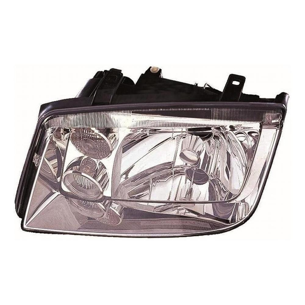 Volkswagen Bora [99-06] Headlight Unit including Integrated Fog Lamp