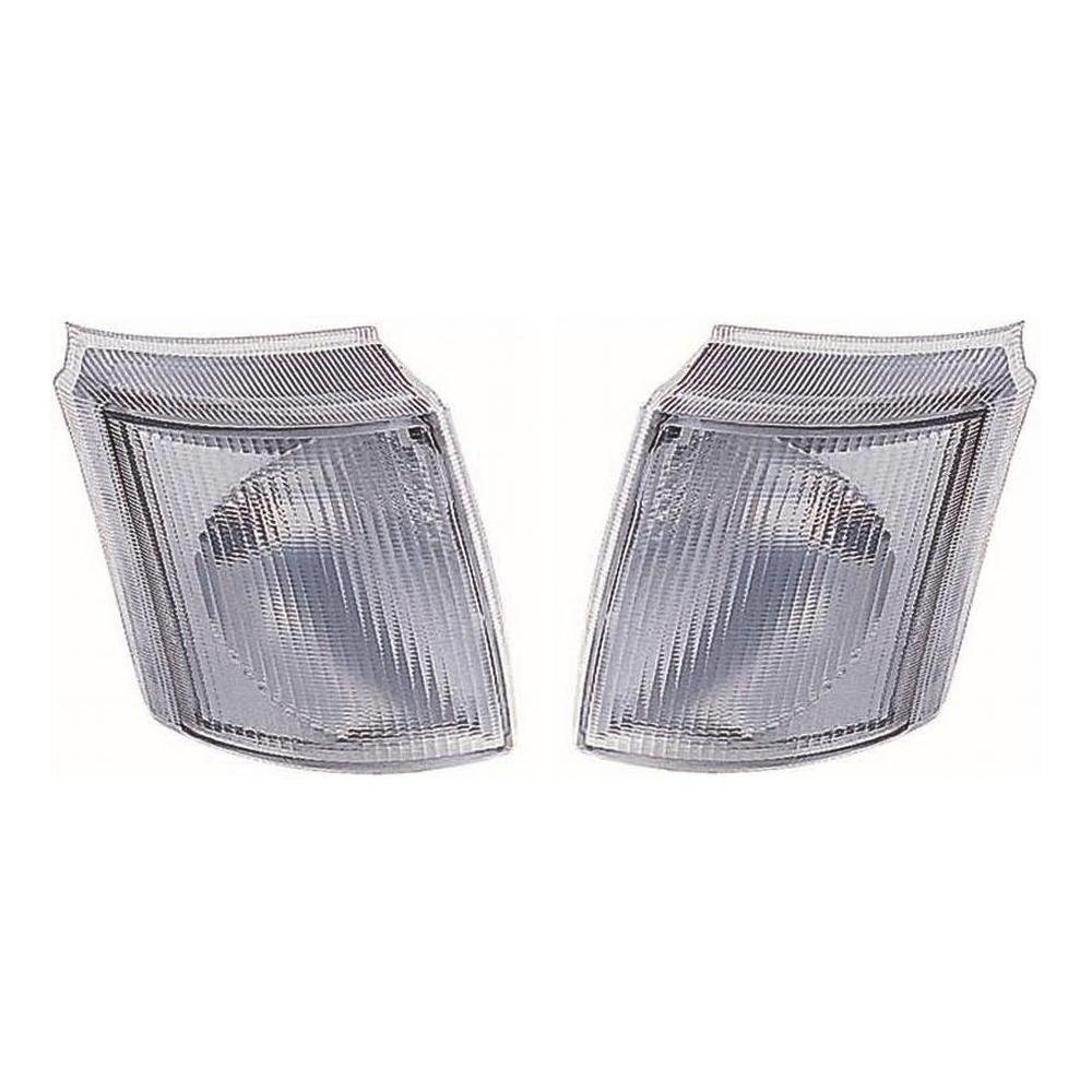 Ford Transit [91-00] Front Indicator Lights - Pair - Clear
