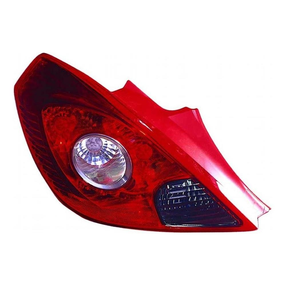 Vauxhall Corsa D [07 on] Rear Tail Light Unit (3 Door - Non Sport)