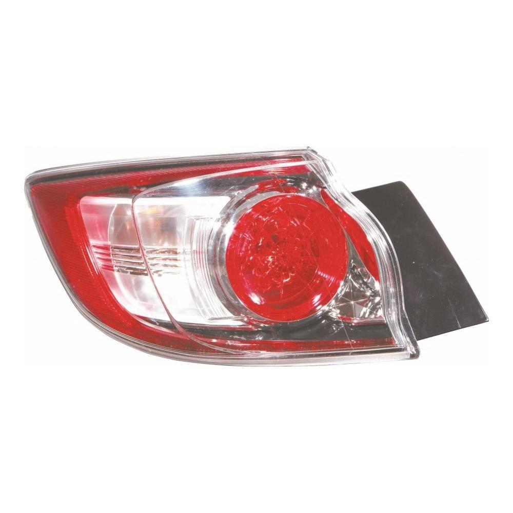 Mazda 3 MK2 [09-13] Rear Tail Light Unit Outer - Non LED (Hatchback non sport models)