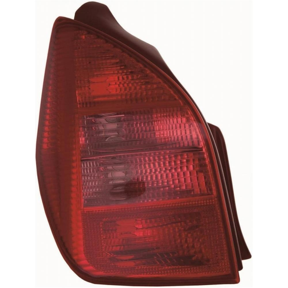 Citroen C2 [03-05] Rear Tail Light Unit - with coloured Indicator
