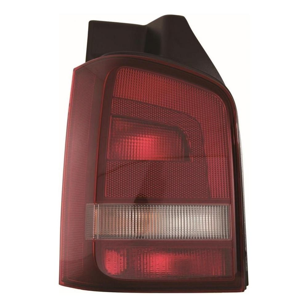 VW Transporter T5 [10-15] Rear Tail Light Unit - Red/Smoked (Tailgate Rear Door)