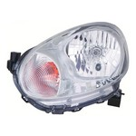 Nissan Micra W02A [10 on] Headlight Unit with Chrome Inner