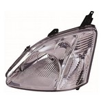 Honda Civic [01-05] Headlight Unit - chrome inner (hatch - not type R or S)