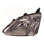 Honda Civic [01-05] Headlight Unit - grey inner (hatch - not type R or S)