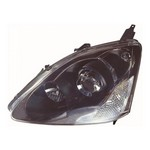 Honda Civic [01-05] Headlight Unit - black inner (Type-R only)