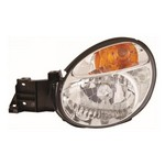 Subaru Impreza MK2 [01-02] Headlight Unit with Amber Indicator - H4