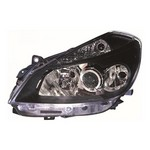Renault Clio MK3 [06-09] Headlight Unit with black inner - Sport only - Halogen (not campus)