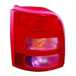 Nissan Micra K11 [00-03] Rear Tail Light Unit - Pink look Indicator