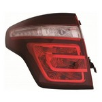 Citroen C4 Picasso [11-13] Rear Tail Light Unit - facelift type (smoked red/clear)