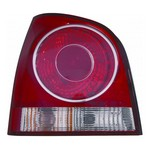 VW Polo 9N2 [05-08] Rear Tail Light Unit - Red Surround